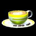 Latte topper icon saffron