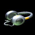 MMS Headphones topper icon orange