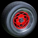 Falco wheel icon crimson
