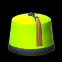 Fez topper icon lime
