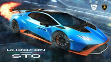 Lamborghini Huracán STO Bundle Promo Art