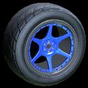 Neptune wheel icon cobalt
