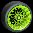 Yamane wheel icon lime