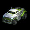 Road Hog body icon lime