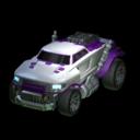Road Hog body icon purple