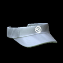 Visor topper icon grey