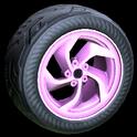 Vortex wheel icon pink