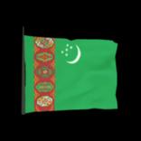 Turkmenistan antenna icon