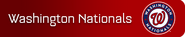 Washington Nationals player banner icon