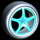 Yuzo wheel icon sky blue