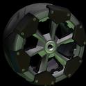 Clodhopper wheel icon black