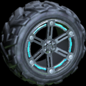 Trahere wheel icon sky blue