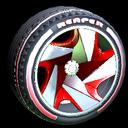 Reaper wheel icon crimson
