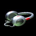 MMS Headphones topper icon crimson