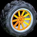 Almas wheel icon orange