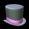 Top hat topper icon pink
