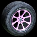 Octavian wheel icon pink