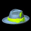 Homburg topper icon lime