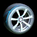 Septem wheel icon sky blue