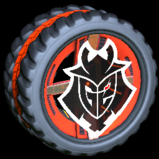 Bionic G2 Esports wheel icon