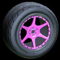 Neptune wheel icon pink
