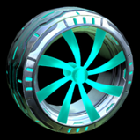 Emerald wheel icon