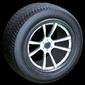 OEM wheel icon titanium white