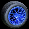 Tunica wheel icon cobalt