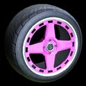 Alchemist wheel icon pink