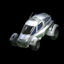 Gizmo body icon titanium white