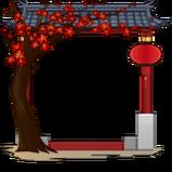 Spring Pagoda avatar border icon