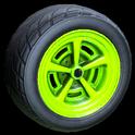 Veloce wheel icon lime