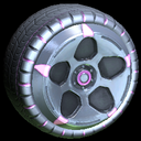 Diomedes wheel icon pink