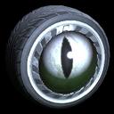 Grimalkin wheel icon titanium white