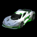 Cyclone body icon forest green