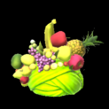 Fruit hat topper icon lime