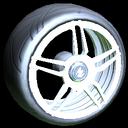 Gaiden wheel icon titanium white