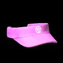 Visor topper icon pink