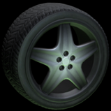 High Poly wheel icon