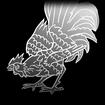 Pollo Caliente decal icon