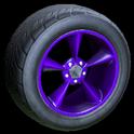 Stern wheel icon purple