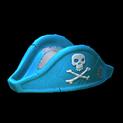 Pirates hat topper icon sky blue