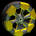 Clodhopper wheel icon orange