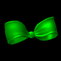 Little bow topper icon forest green