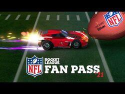 Rocket League 2021 NFL Fan Pass Trailer