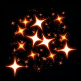 Sparkles rocket boost icon