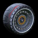 Spiralis wheel icon black