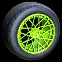 Tunica wheel icon lime
