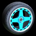 Alchemist wheel icon sky blue