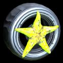 Asterias wheel icon lime